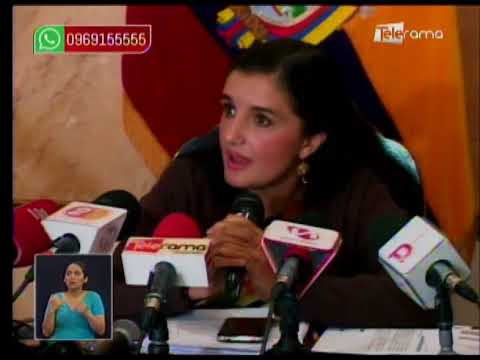 Ministra Alvarado respalda decretos para convocar a consulta popular