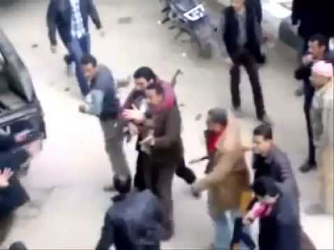 In Egypt Police torture then shoot unarmed arrested citizen