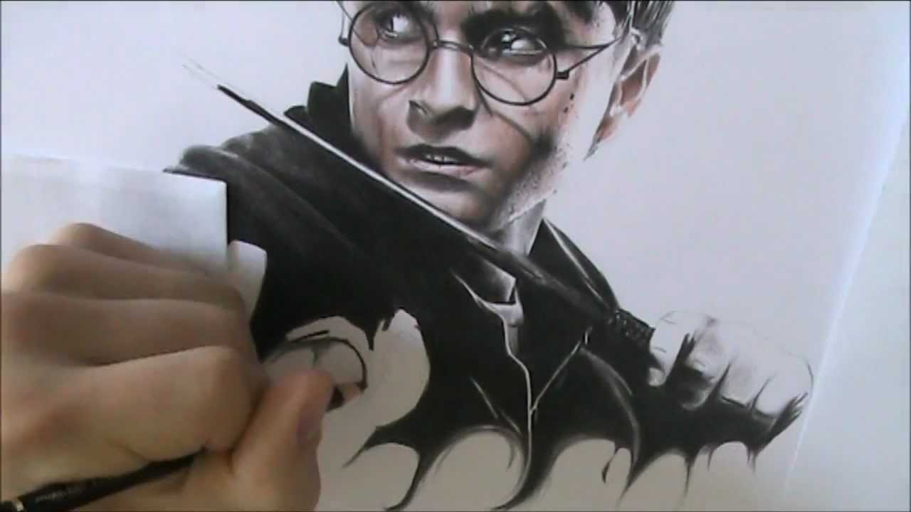 How to draw harry potter fast and easy 81
