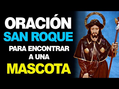 🙏 Oración a San Roque para que APAREZCA una MASCOTA PERDIDA 🐶