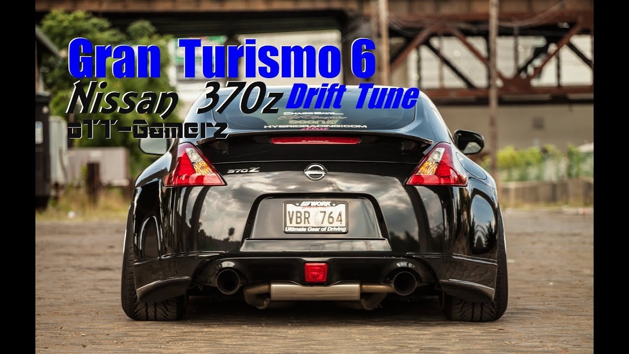 gran turismo 6 nissan 370z drift tune youtube. Black Bedroom Furniture Sets. Home Design Ideas