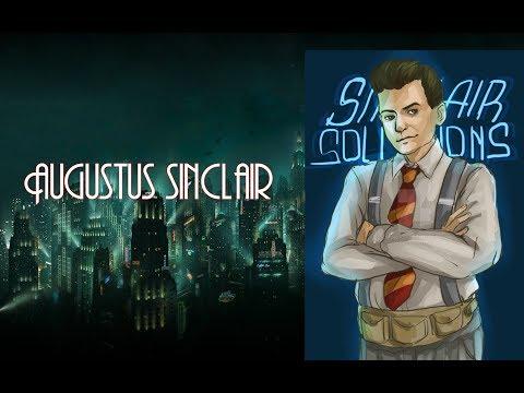 Augustus Sinclair   Historia (BioShock 2)