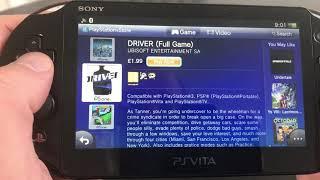PS Vita 2018 PSN UK store review