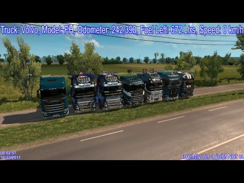 ETS2MP Globex End of Year Convoy