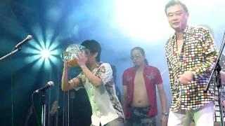 20100625-Legacy 陳昇V.S.董事長樂團-02喝酒接力(山地醉拳)