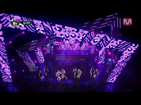 걸스데이_여자 대통령 (Female President by Girl's Day@M COUNTDOWN 2013.7.25)