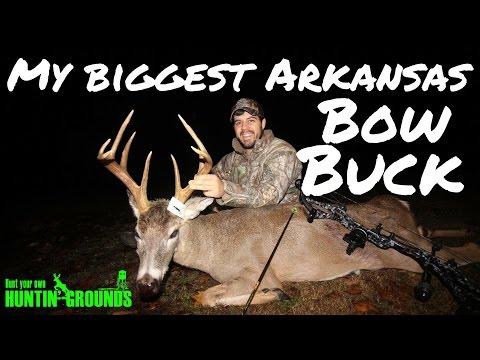 Bowhunting Deer: My Biggest Arkansas Bow Buck  S7 #50