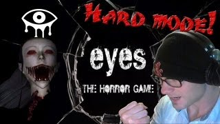EYES the Horror Game - HARD MODE! (COMPLETED) - w/ Death Montage at the End!