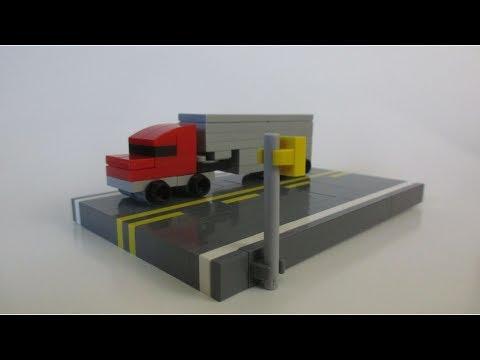 Mini Lego Semi Truck Tutorial + Giveaway!