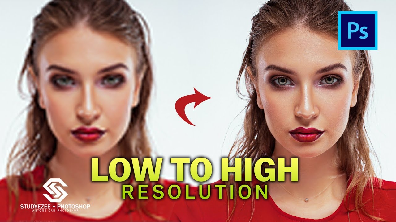 low to high resolution | preserve details 2.0 | upscale | Photoshop 2021 |Shorts