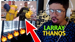 LARRAY - THANOS (OFFICIAL MUSIC VIDEO) (Reaction)