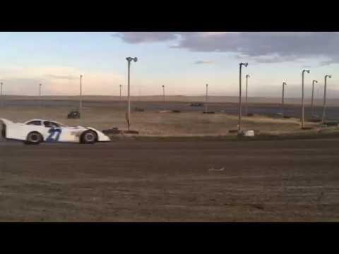 7/9/2016 BMP Speedway heat race (outside)