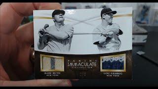 2015 Panini Immaculate Baseball 8 Box Case Break #9
