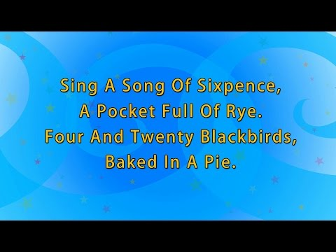 Karaoke Rhymes: Sing a song of sixpence