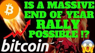 🚀  BITCOIN MASSIVE END OF YEAR RALLY?? 🚀bitcoin litecoin price prediction, analysis, news, trading