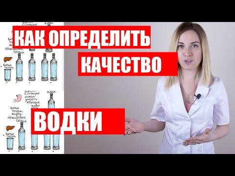 Похмелье от водки. Как определить качество водки