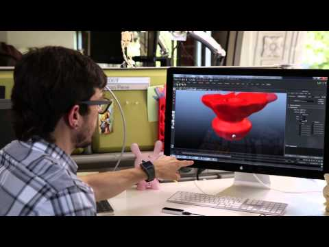 Autodesk Reaches into New Worlds of 3D Design with Leap Motion