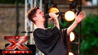 Papasidero attempts to bare all with Titanium cover| Boot Camp |  The X Factor UK 2015