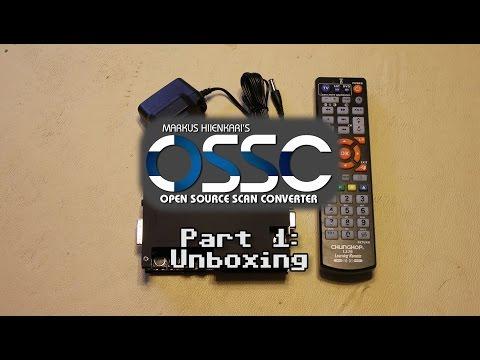 OSSC (Open Source Scan Converter) - Part 1: Unboxing