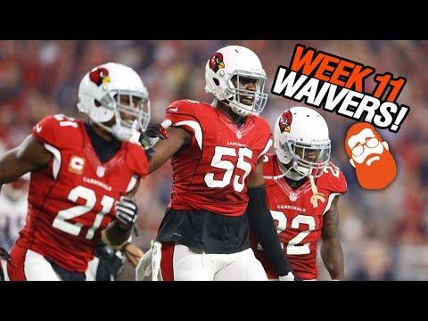 Waiver Wire Pickups Week 11 Fantasy Football 2018