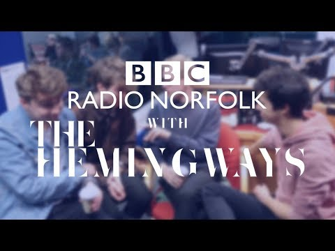 FILMING FOR BBC RADIO NORFOLK- THE HEMINGWAYS ON BBC INTRODUCING