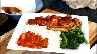 How To Cook Jamaican Tin Mackerel & Rice | Jamaican Mackerel & Rice !!