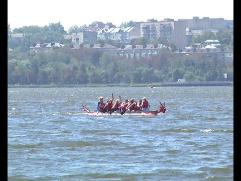 Телеканал ІНТБ: У Тернополі  змагалися на човнах- «драконах»