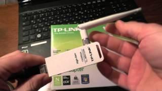 tp-link TL-WN722N мини обзор. Оружие для хакеров WIFI(tp-link TL-WN722N мини обзор. Оружие для хакеров сети WIFI С данным устройством можно доставать отдаленные wifi точки..., 2014-05-24T11:26:48.000Z)