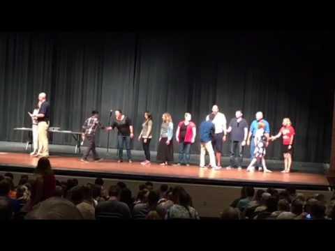 Aydan Daza 2017 Urbandale Middle School Graduation
