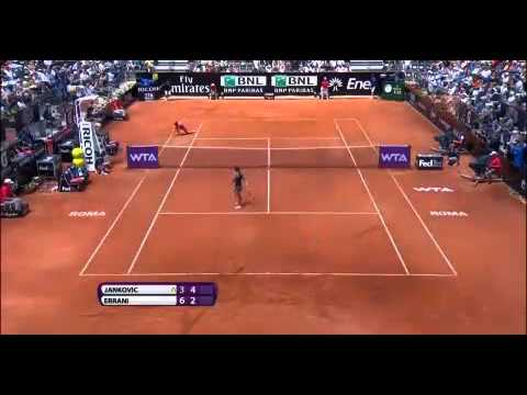Errani vs Jankovic Semifinals Rome Masters Open 2014 - Internazionali BNL d'Italia