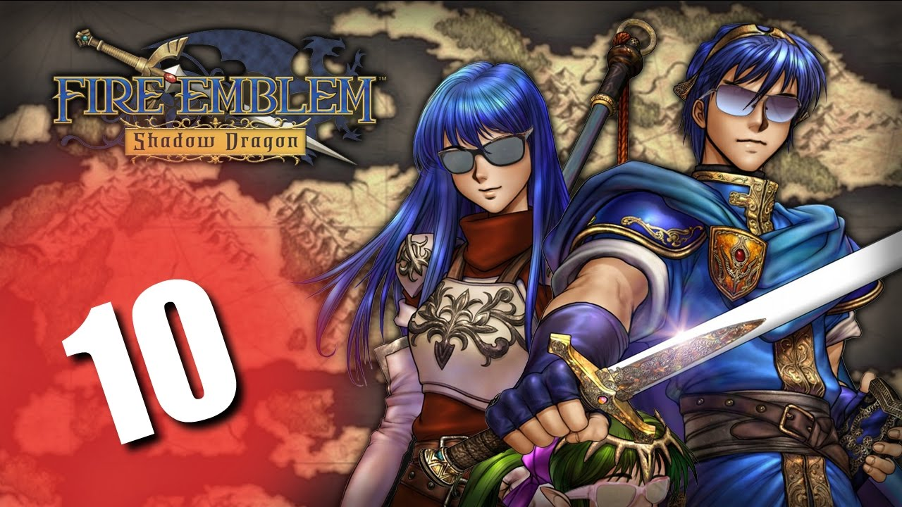 Fire Emblem Shadow Dragon Part 10 Smart Alec Merric Youtube
