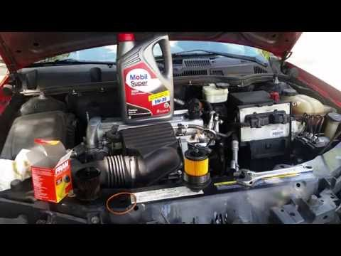 How to change oil + Reset Oil Life Saturn Ion