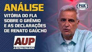 """ELE SE ACHA O ÚLTIMO BISCOITO DO PACOTE"", DISPARA SORMANI SOBRE RENATO GAÚCHO!"