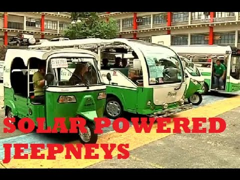AUSTRALIAN COMPANY OFFERS TO BUILD SOLAR POWERED JEEPNEYS TO PHILIPPINES FOR FREE