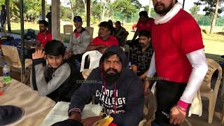 Kiccha Sudeep Team Practicing for CCL - T10 Tournament