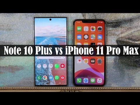 Galaxy Note 10 Plus Vs IPhone 11 Pro Max - Winner Decided!