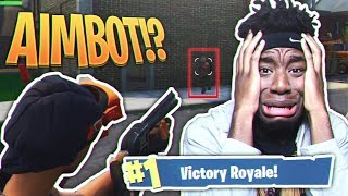 MY DUOS PARTNER IS A FORTNITE HACKER... WEIRDEST Fortnite: Battle Royale DUOS VICTORY EVER! thumbnail