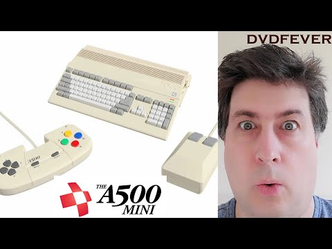 Amiga A500 Mini - New Retro Games Machine Coming Out Early 2022!