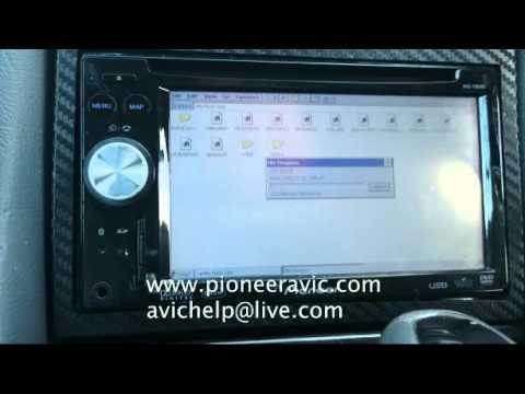 HOW TO: F900BT  - F910BT - F700BT - F710BT Map and Firmware update instruction video