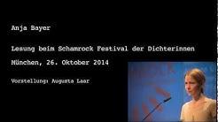 Lesung Anja Bayer Okt 2014