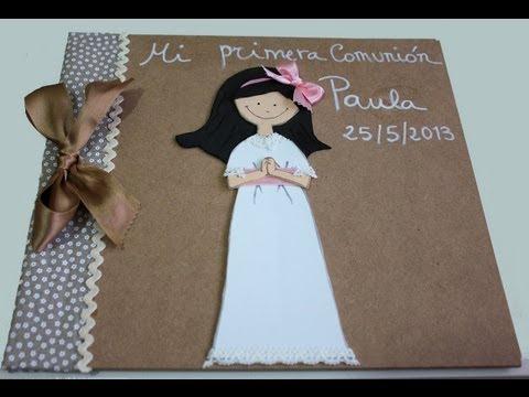 Album de Comunión de fofucha | Goma EVA | Pinterest