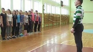 Учитель физкультуры претендует на звание
