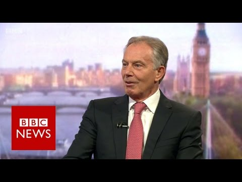 Tony Blair on EU referendum, Chilcot Inquiry and ISIS - BBC News