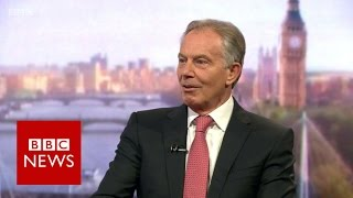Tony Blair on EU referendum, Chilcot Inquiry and ISIS - BBC News thumbnail