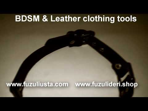 Leather fetish bondage pictures