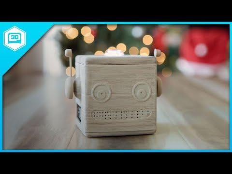 3D Printed Google AIY Voice Kit
