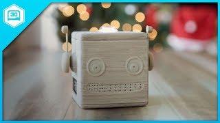 3D Printed Google AIY Voice Kit for Raspberry Pi