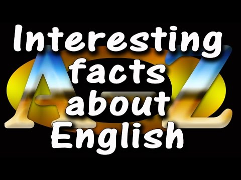 Interesting facts about English Language | How to learn English basic |