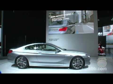 BMW 6 Series Concept - Los Angeles Auto Show
