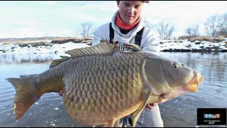 Winter Flyfishing Shaker - Uncut Angling - January 31, 2013